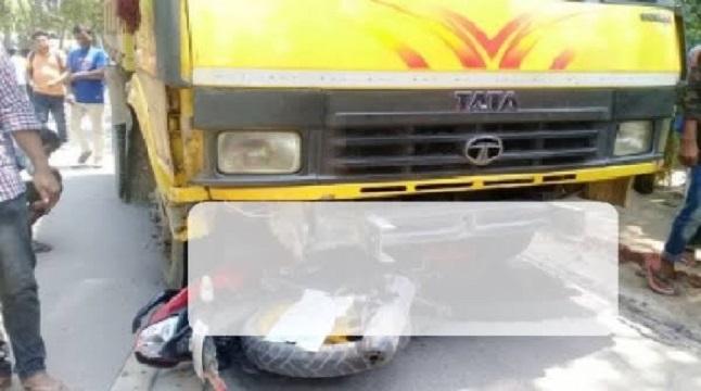 যাত্রাবাড়ীতে ট্রাকচাপায় মোটরসাইকেল চালক নিহত