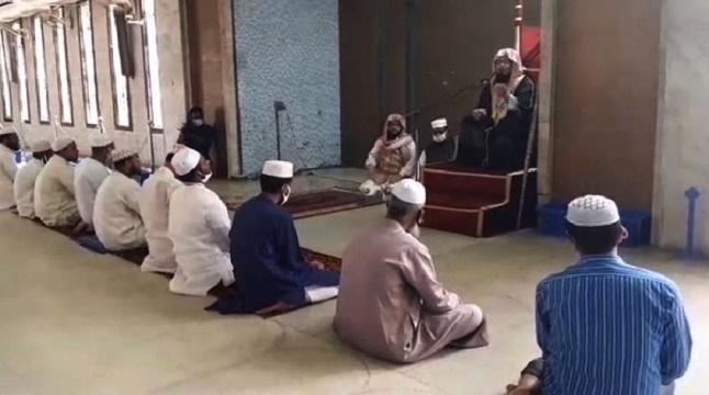 মসজিদে নামাজ আদায়ে নতুন নির্দেশনা জারি