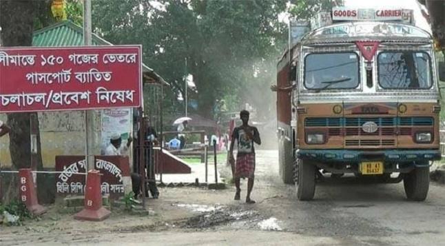 হিলি স্থলবন্দরে আমদানি-রপ্তানি বন্ধ