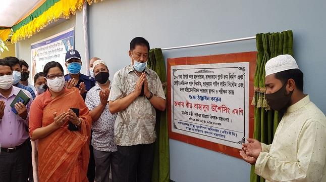 বান্দরবানে হাসপাতালে নতুন অক্সিজেন প্ল্যান্ট চালু
