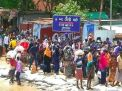 দৌলতদিয়া-পাটুরিয়ায় ঘরমুখো মানুষের স্রোত