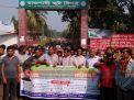 রাজশাহীতে পাটকল শ্রমিকদের ধর্মঘট, উৎপাদন বন্ধ