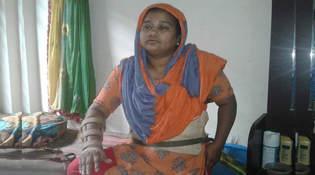 এখনও ক্ষত শুকায়নি রানা প্লাজার আহত শ্রমিকদের