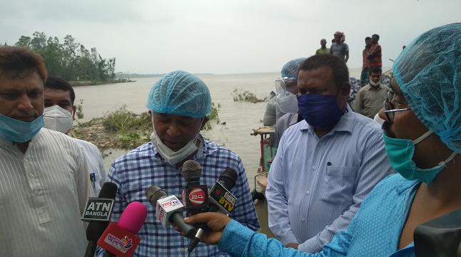 'নদী ভাঙনে ক্ষতিগ্রস্ত এলাকায় স্থায়ী প্রকল্প গ্রহণ করা হবে'