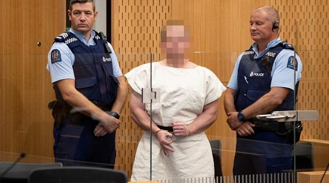 নিউজিল্যান্ডে মসজিদে হামলা: অপরাধ স্বীকার করল হামলাকারী