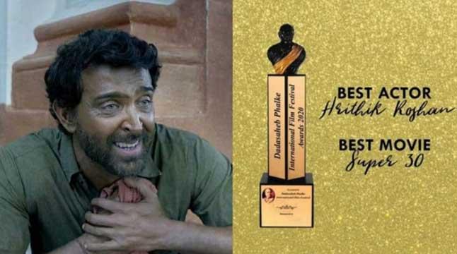 এবার হৃত্বিক ঝুলিতে ভারতের সর্বোচ্চ চলচ্চিত্র পুরস্কার