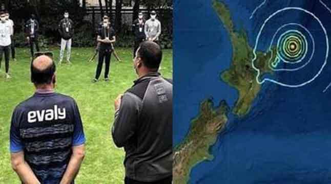 নিউজিল্যান্ডের ভূমিকম্পে নিরাপদে টাইগাররা