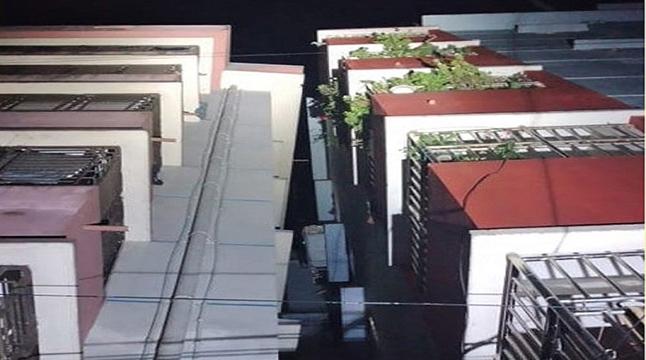 ভূমিকম্পে হেলে পড়ল সিলেটের দুটি বহুতল ভবন