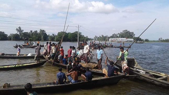 হবিগঞ্জে নৌকাডুবি: নিখোঁজ বাবা-ছেলের লাশ উদ্ধার